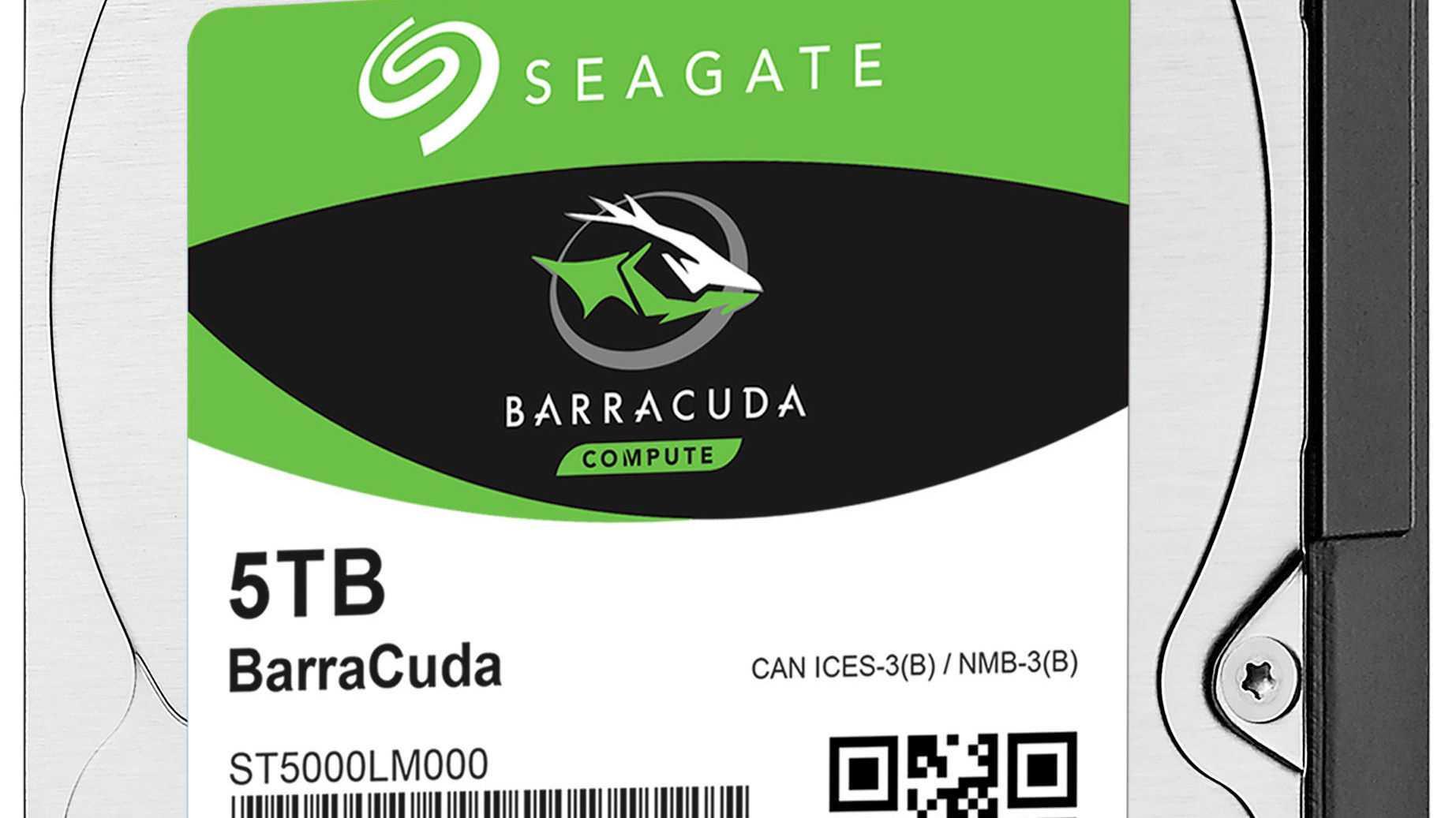 Seagate-Festplatte: 2,5 Zoll, 5 TByte