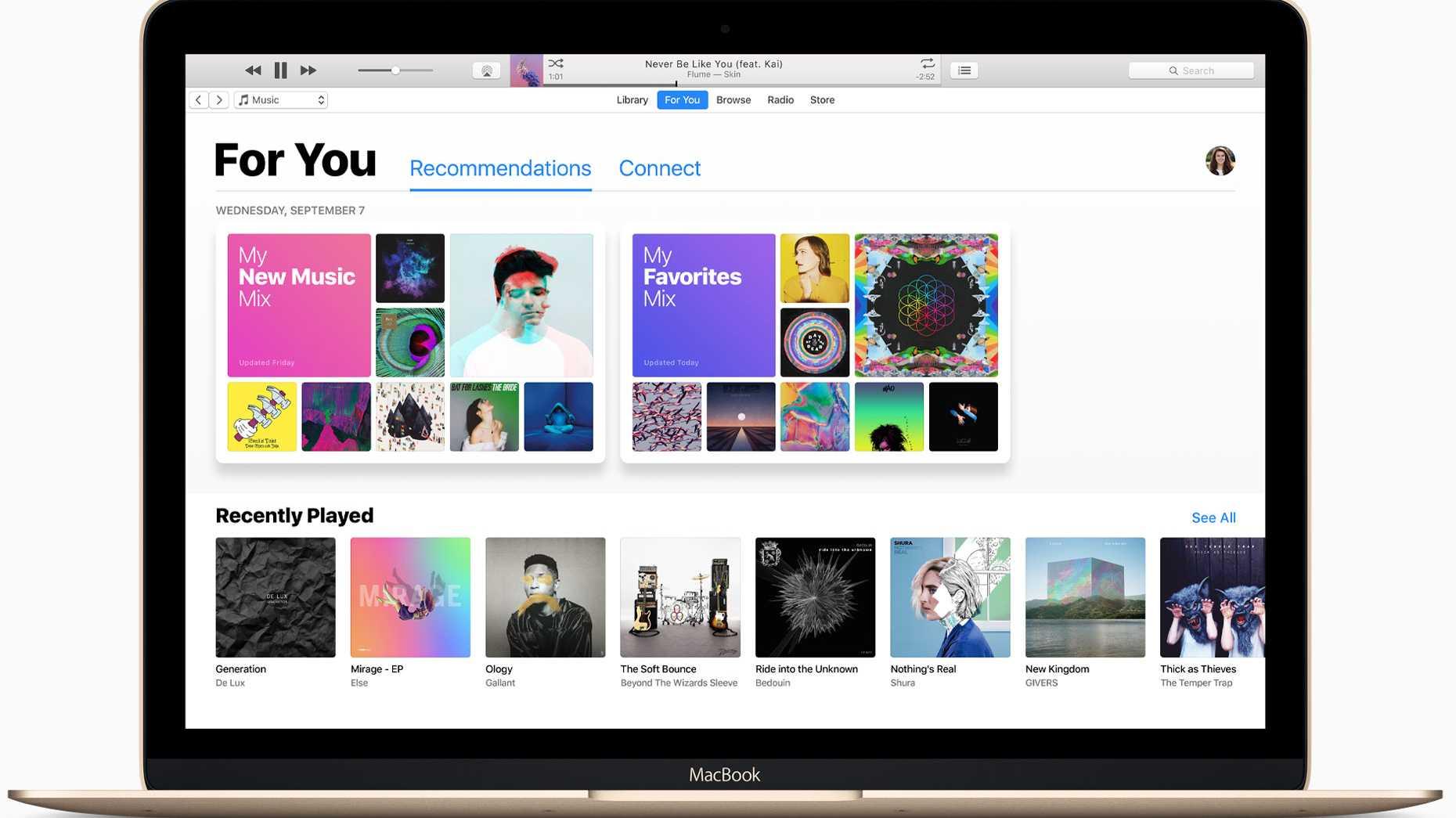 iTunes macOS