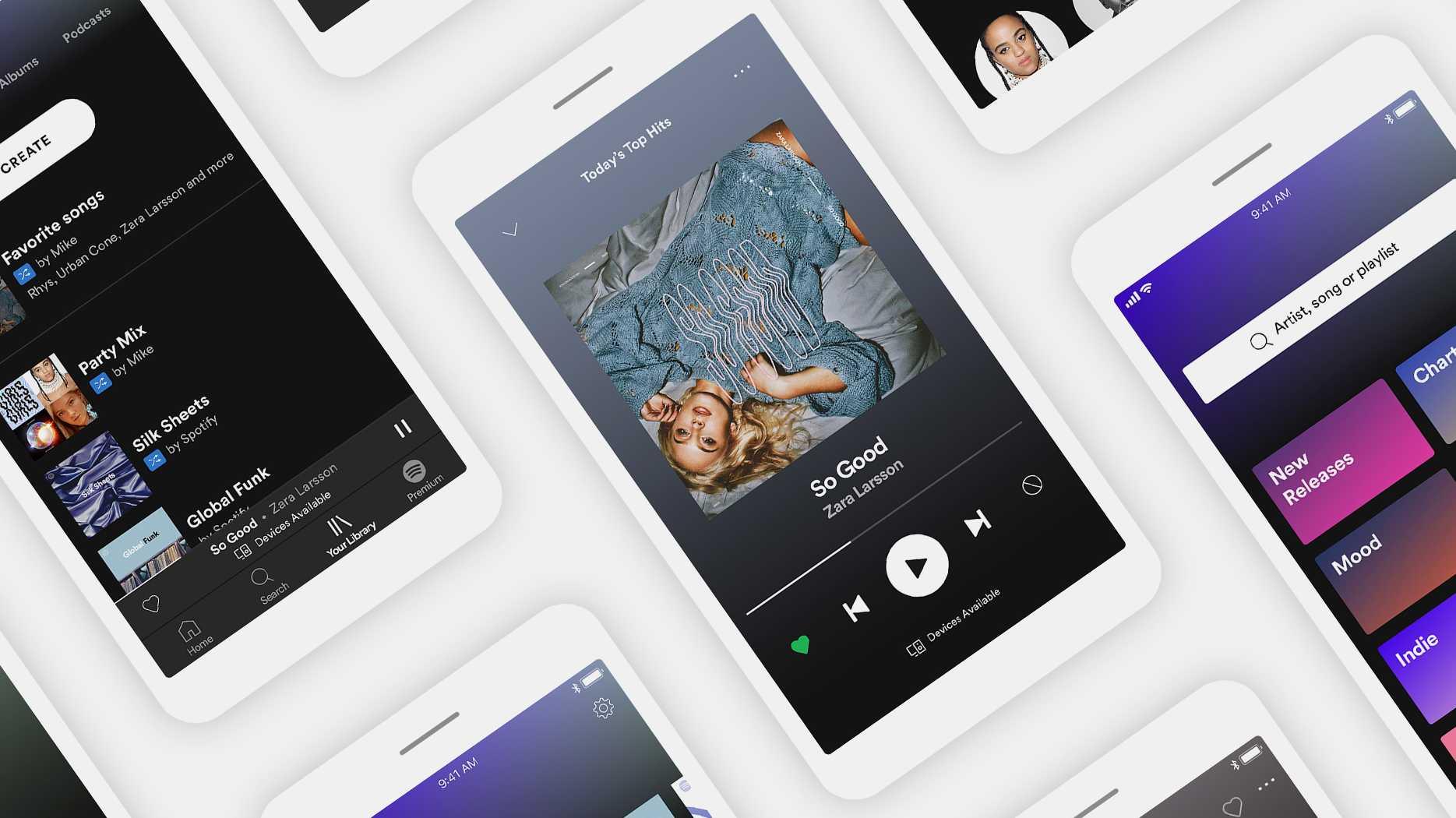 Spotify Free: Gratis-Nutzer können Songs in Playlists bald direkt abspielen