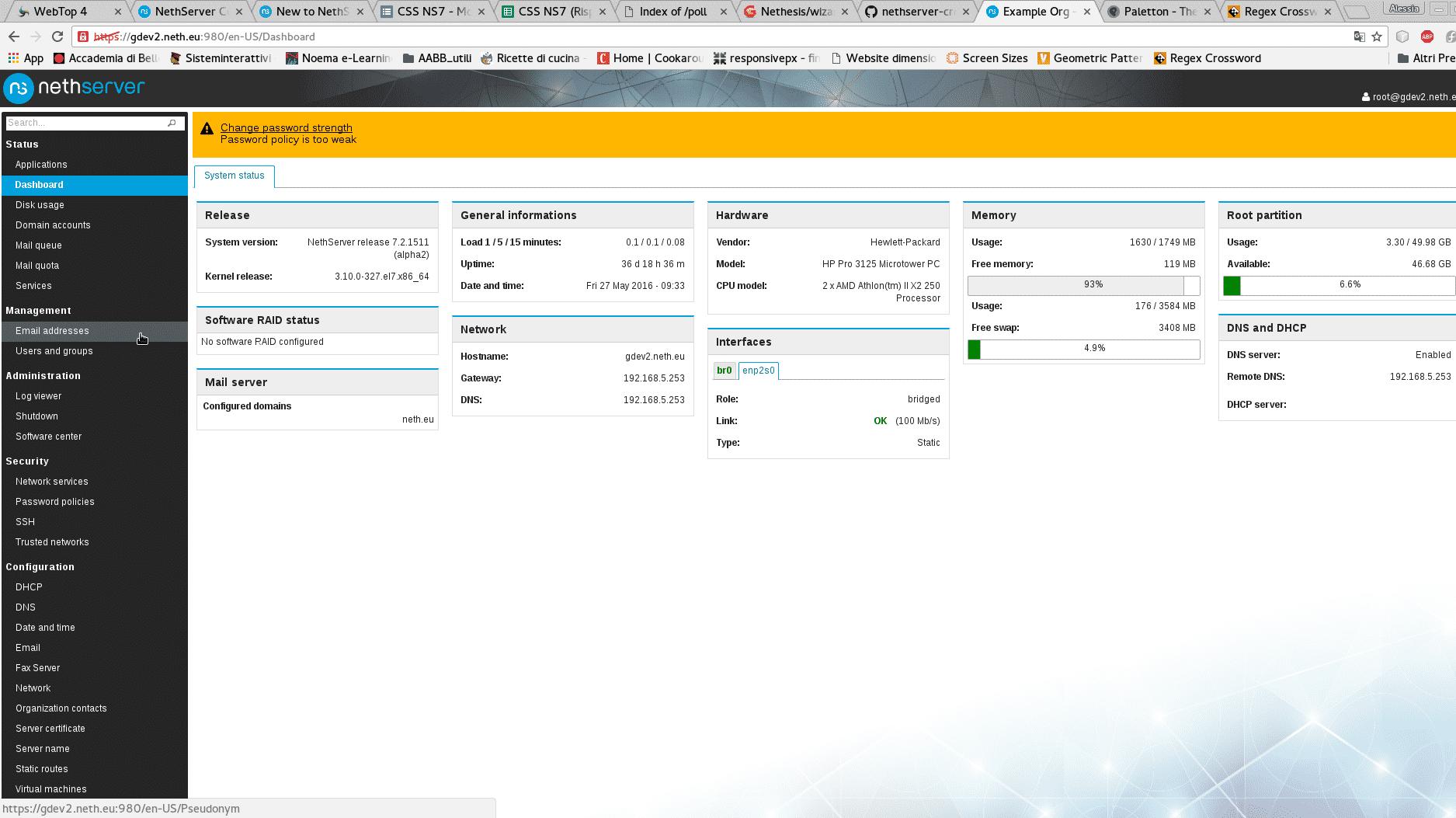 NethServer 7: Admin-freundliches CentOS-Paket für Unternehmen