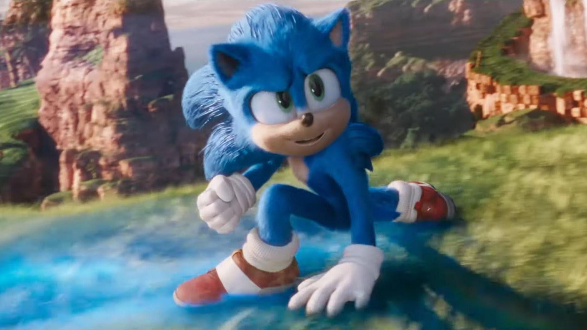 Sonic The Hedgehog Neuer Trailer zeigt das überarbeitete Design ...