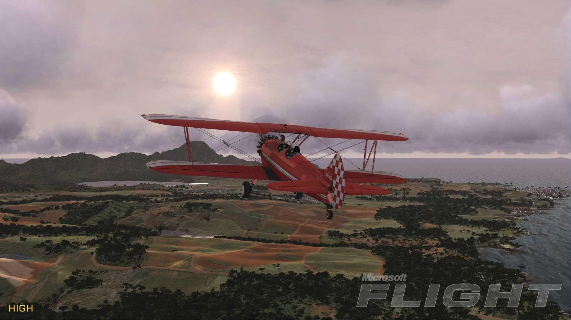 Microsoft Flight sah hübsch aus, war aber für echte Flugsimulationsfans ein Schlag ins Gesicht.