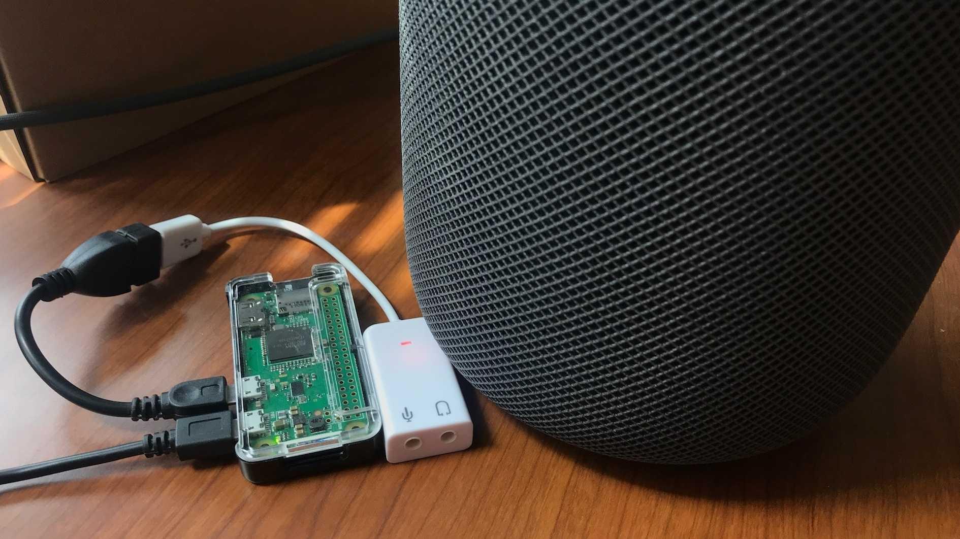 BabelPod: Raspi-Projekt rüstet Bluetooth und Line-In für HomePod nach