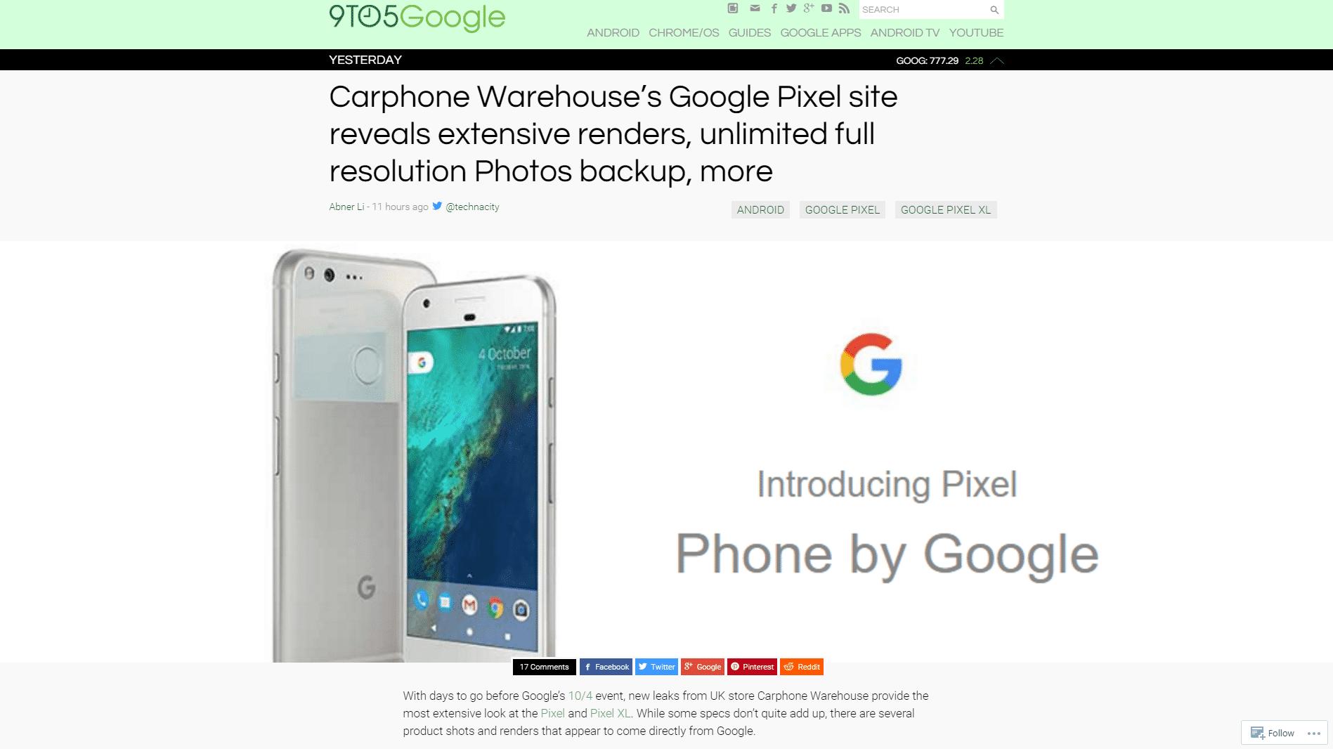 Google statt Nexus:Erste Informationen zum Google-Smartphone geleakt