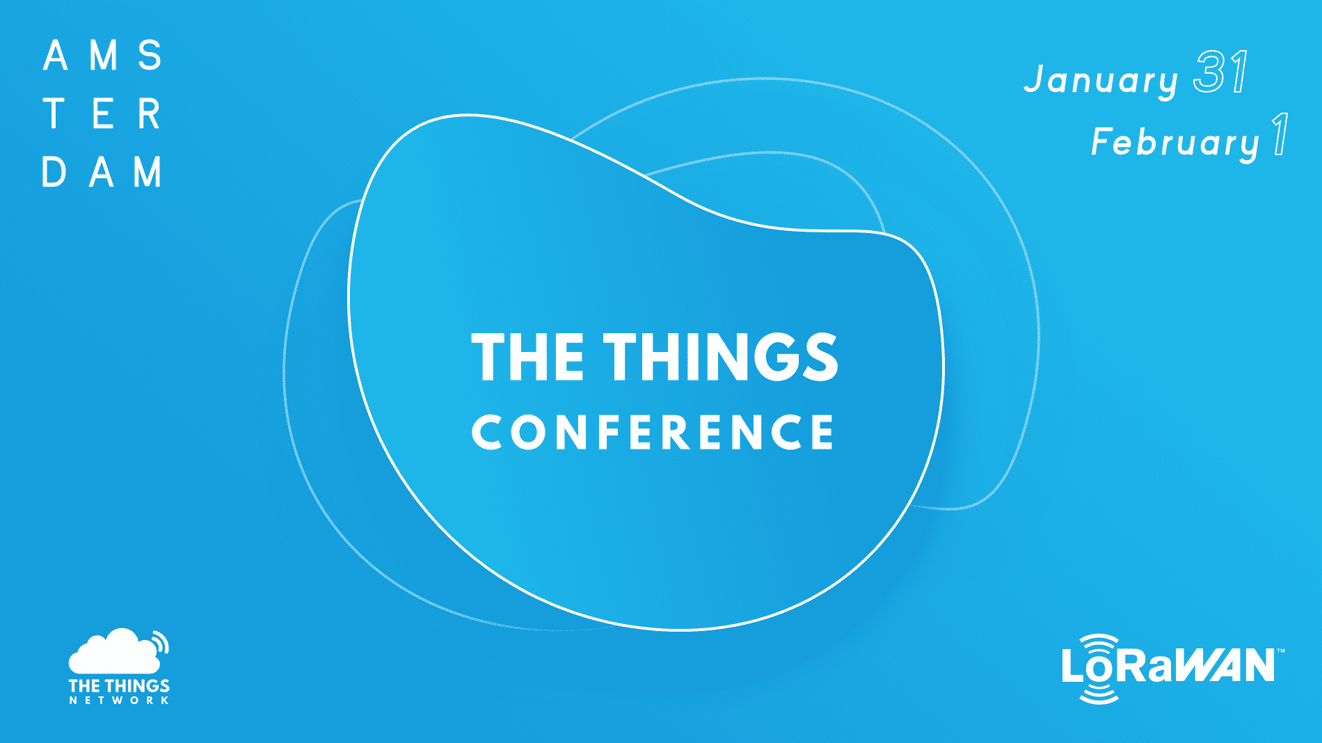 Logo The Things Conference 2019, Amsterdam