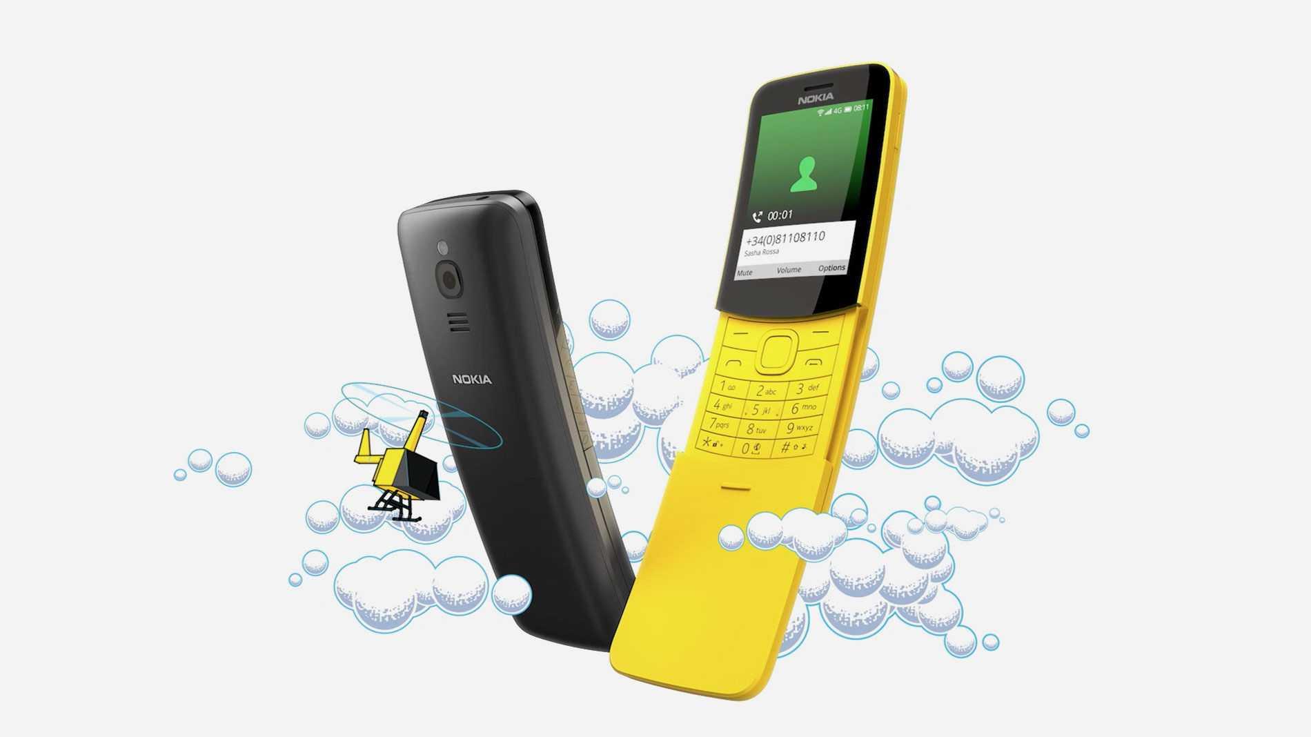 Nokia 8110: WhatsApp läuft jetzt auf KaiOS-Geräten