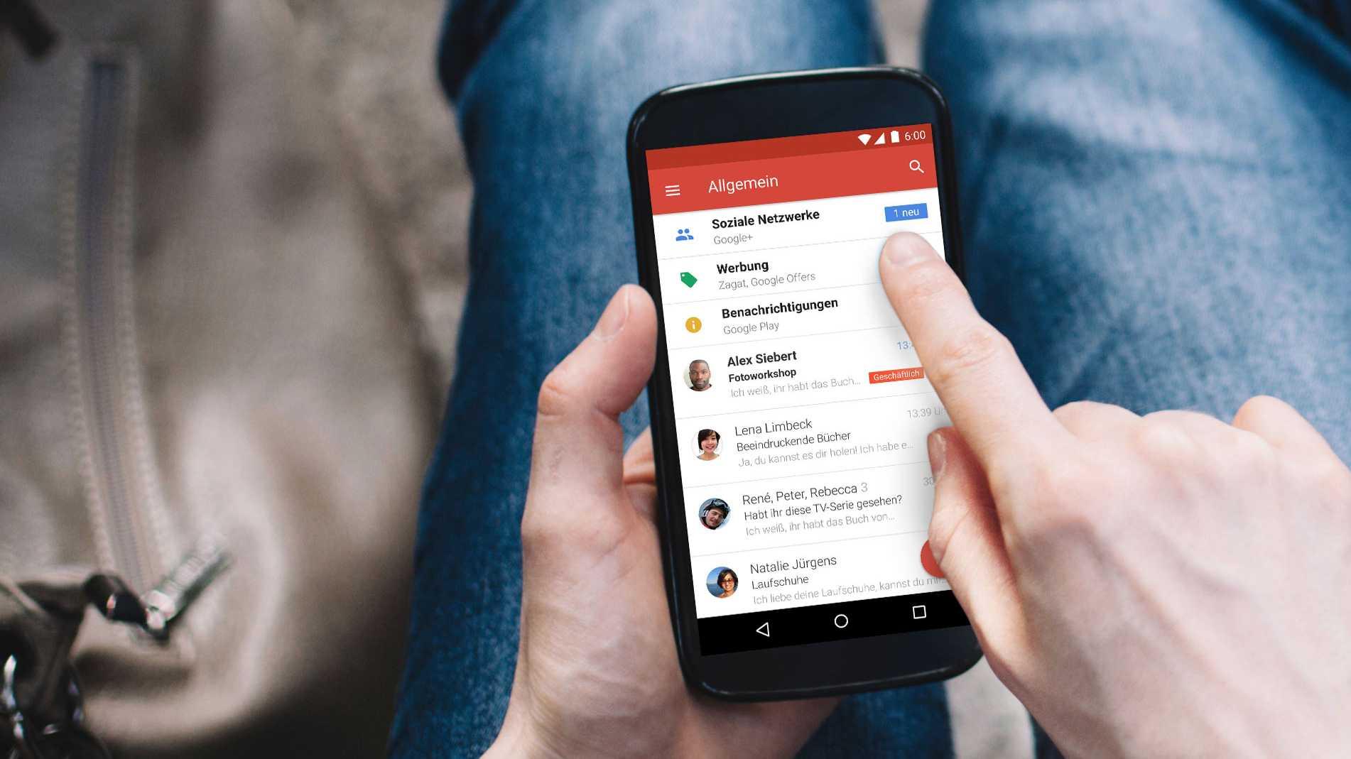 Gmail bekommt neues Design und neue Funktionen