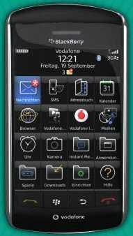 Das Blackberry Storm sorgte zum US-Verkaufsstart für einigen Wirbel.