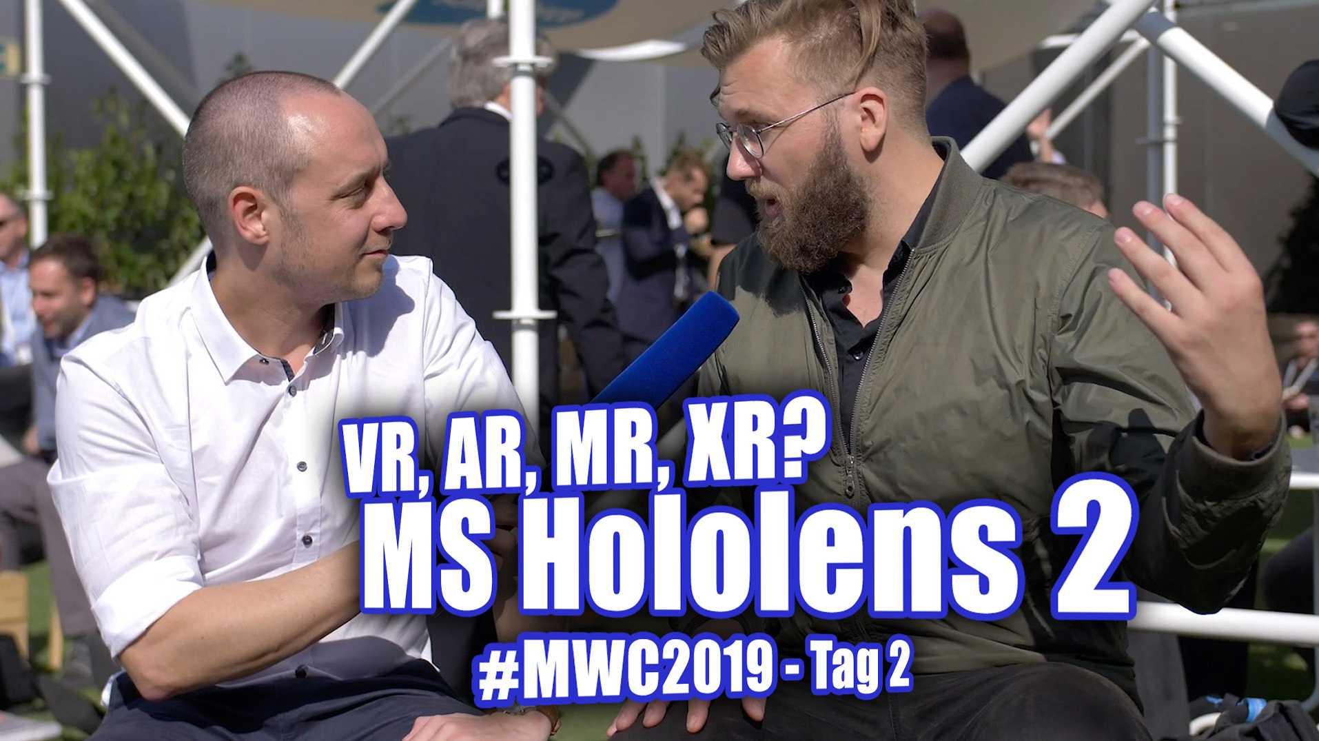 c't uplink MWC Tag 2: AR, VR, MR, XR und die Hololens 2