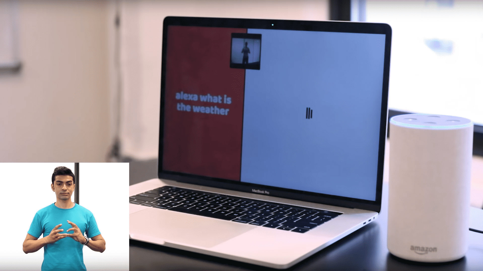 Tensorflow: Amazons Alexa mit Gebärdensprache bedienen