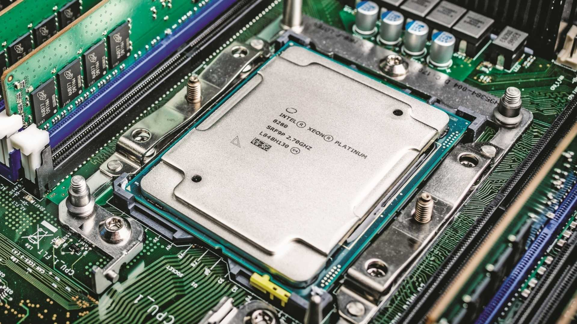 Intel Xeon Platinum 8284: 300 MHz Basistakt kosten 5.000 US-Dollar Aufpreis