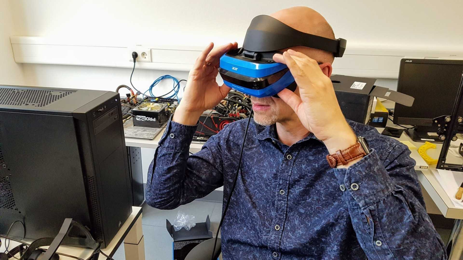 Kurztest: Windows Mixed Reality überzeugt, Start mit 16 VR-Titeln