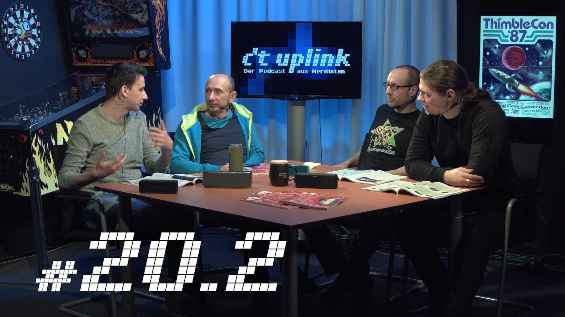 c't uplink 20.2:Biohacking, Bluetooth-Lautsprecher und iPhone-Akkus