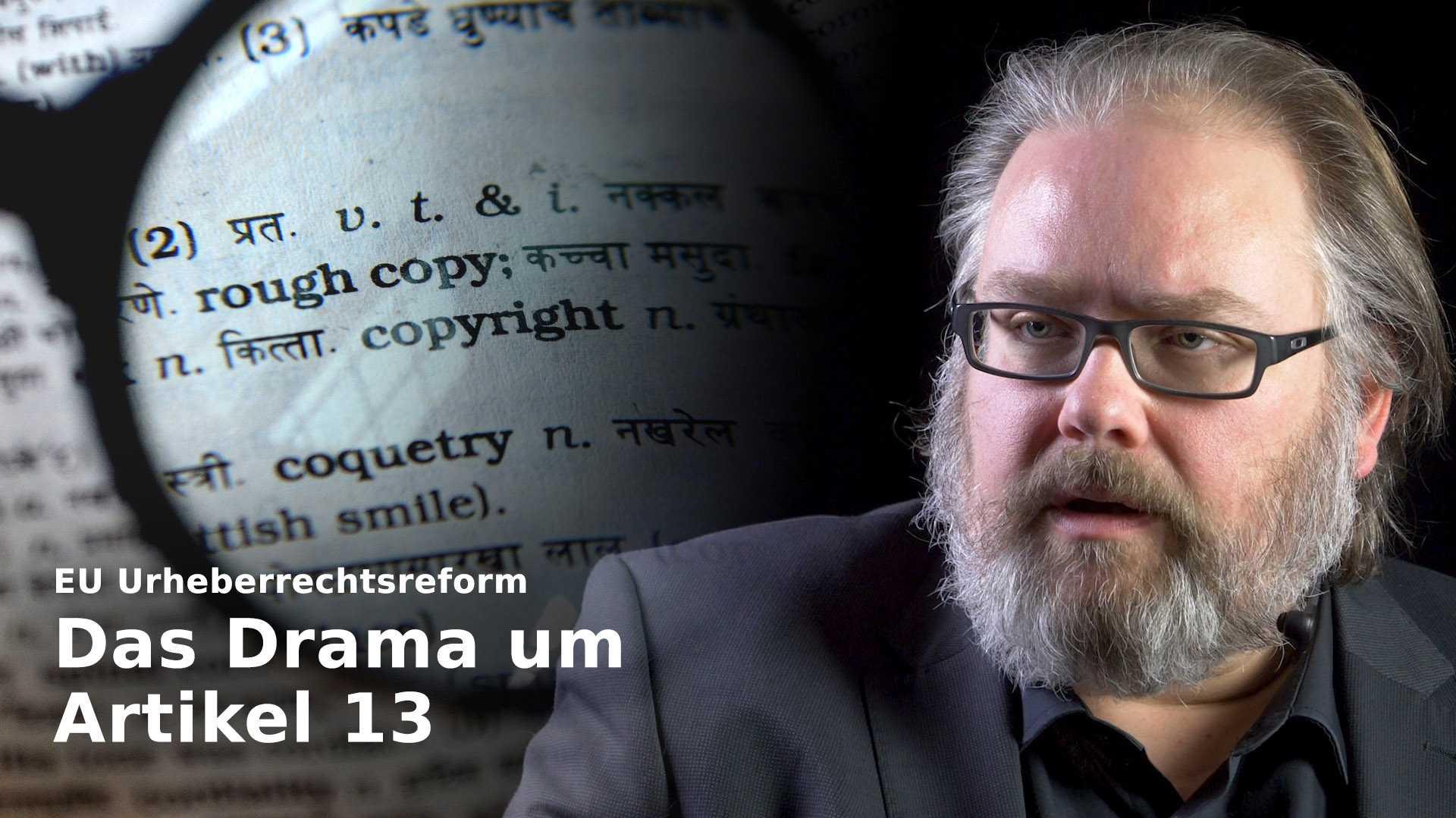 nachgehakt: Die Urheberrechtsreform und der Artikel 13