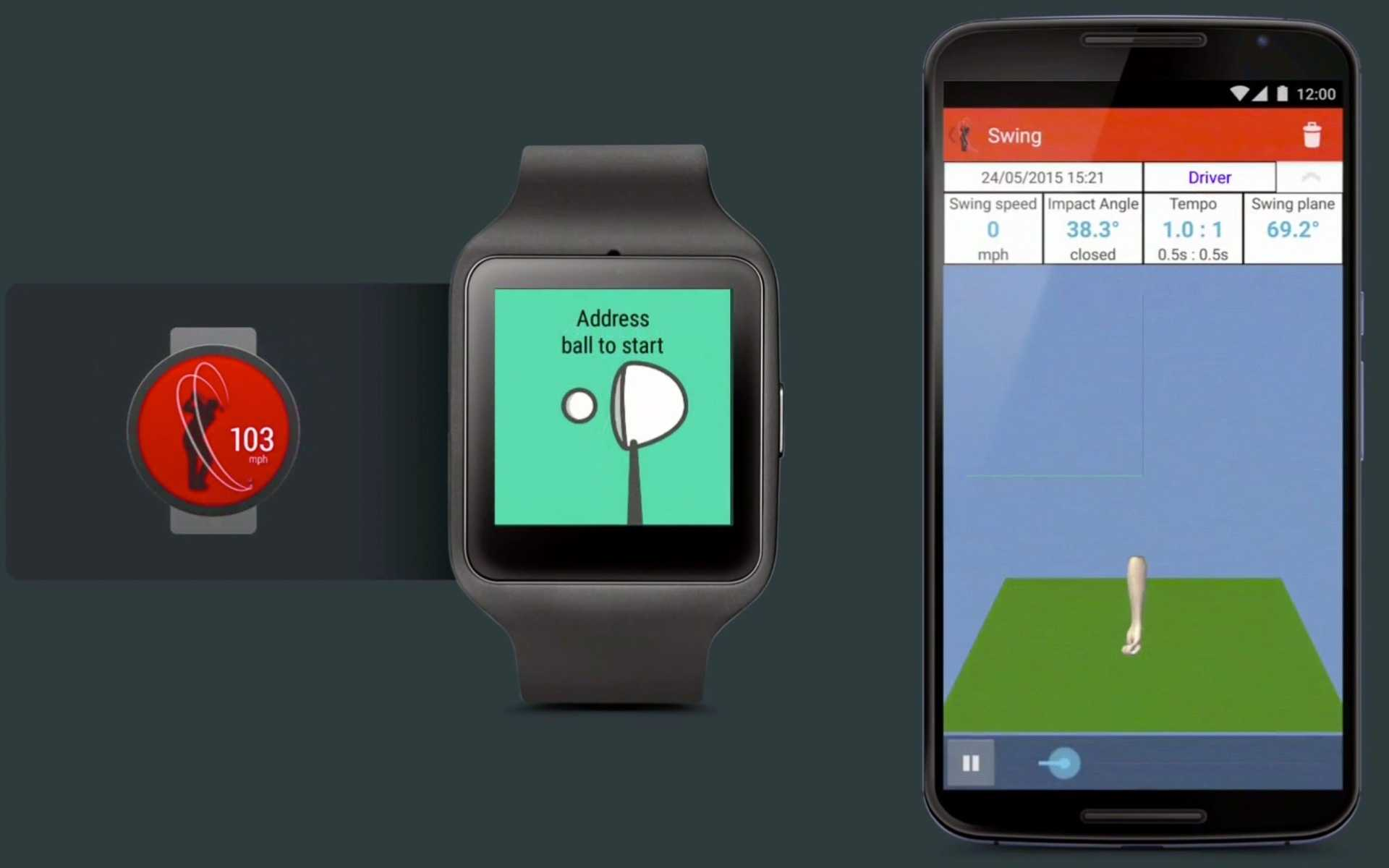 Google Fit erkennt nun, ob man auf dem Golfplatz steht.