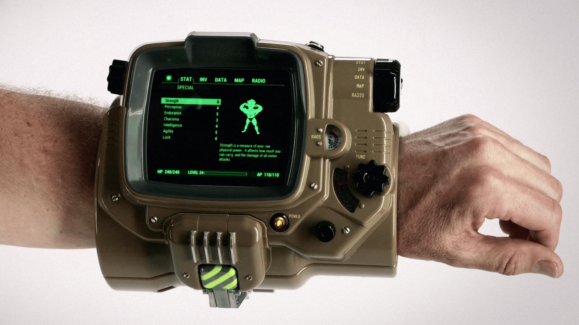 E3: Fallout 4 bringt riesigen Smartwatch-Adapter mit