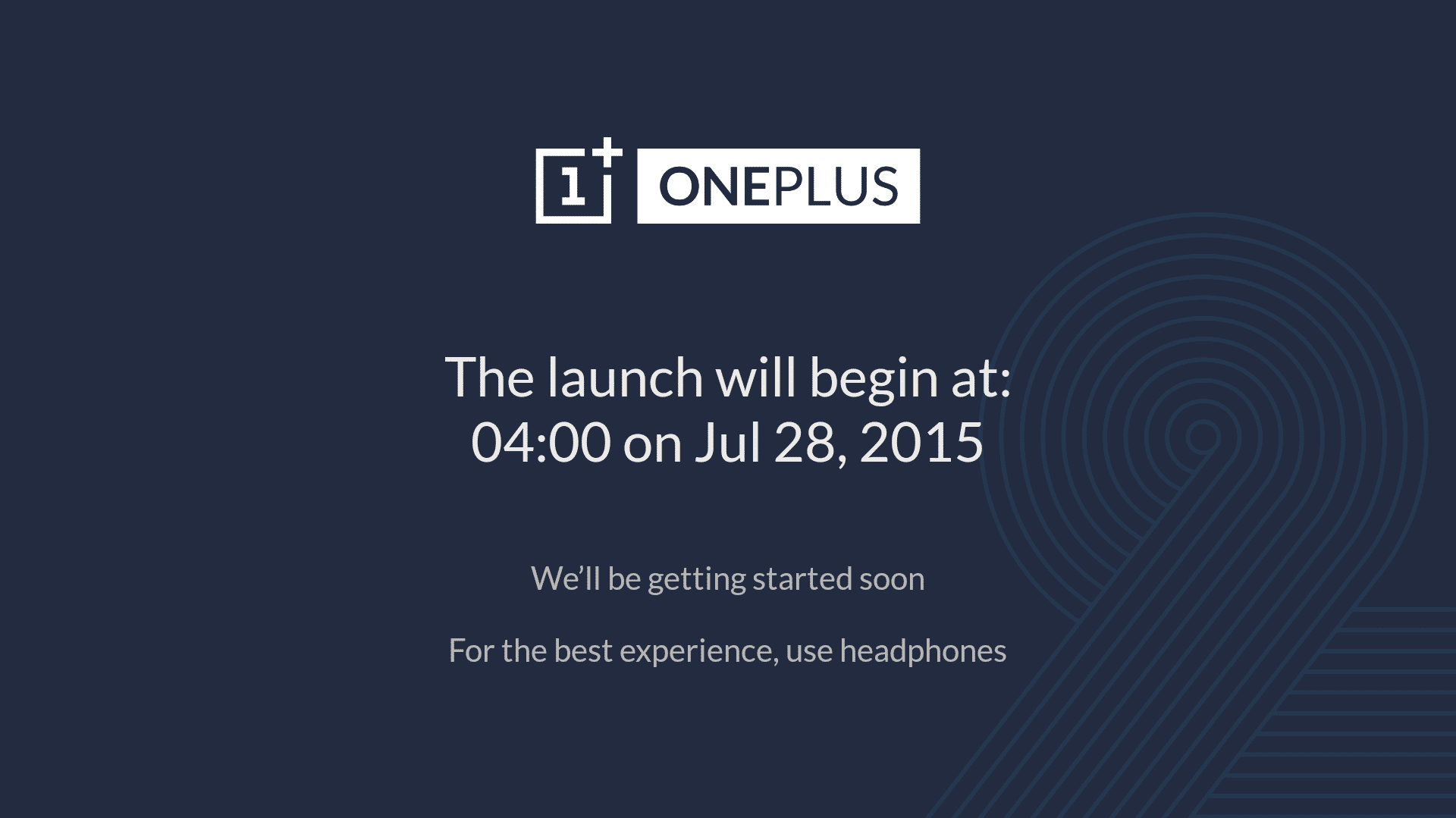 OnePlus 2 VR-Launch