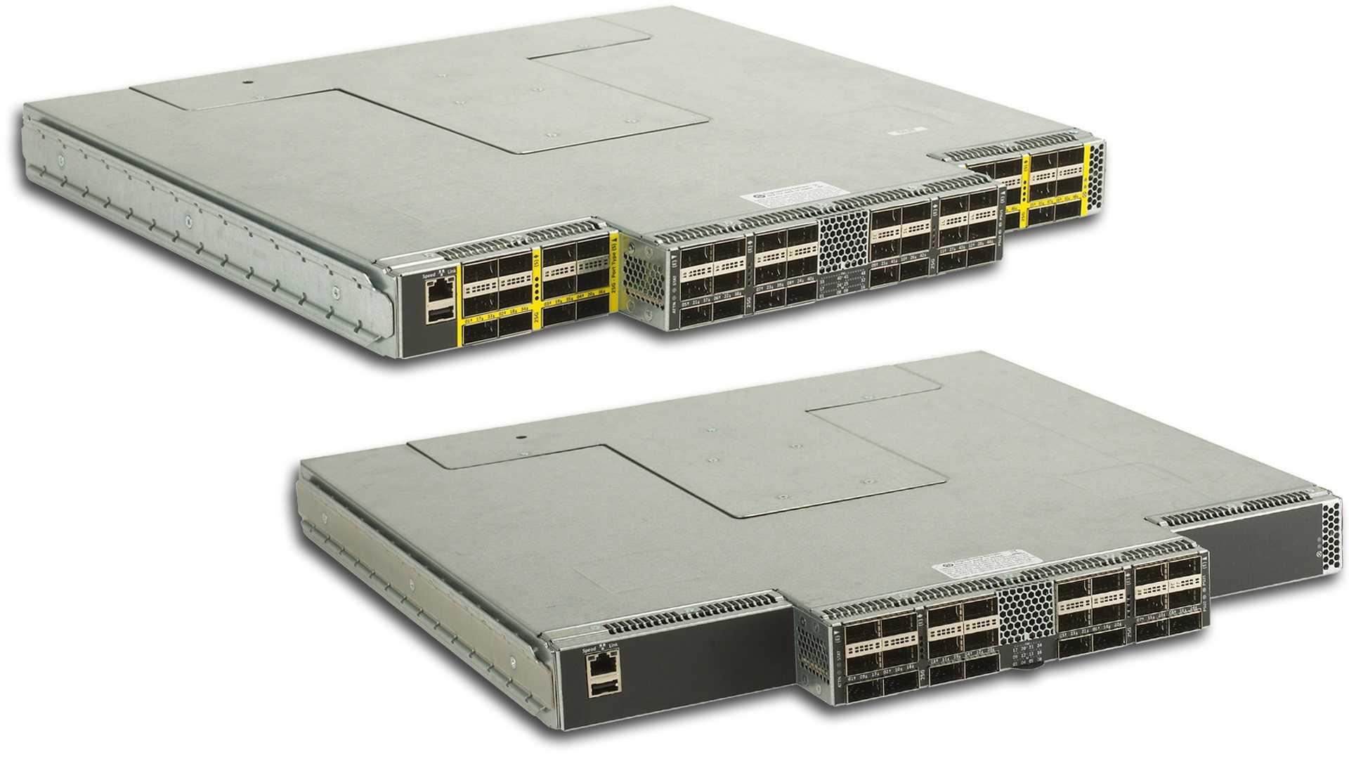 Omni-Path Edge Switch Serie 100 mit 24 oder 48 Ports