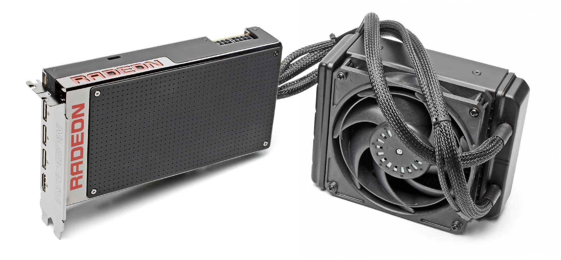AMD setzt Hoffnung auf Grafikkarten mit Fiji-GPUs und HBM-Speicher, etwa die Radeon R9 Fury X.