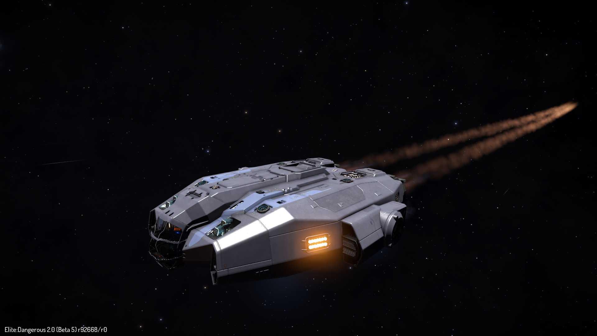 Tapferes, kleines Schiff – bei Star-Trek-Fans wird das Design des Keelback Erinnerungen wecken.