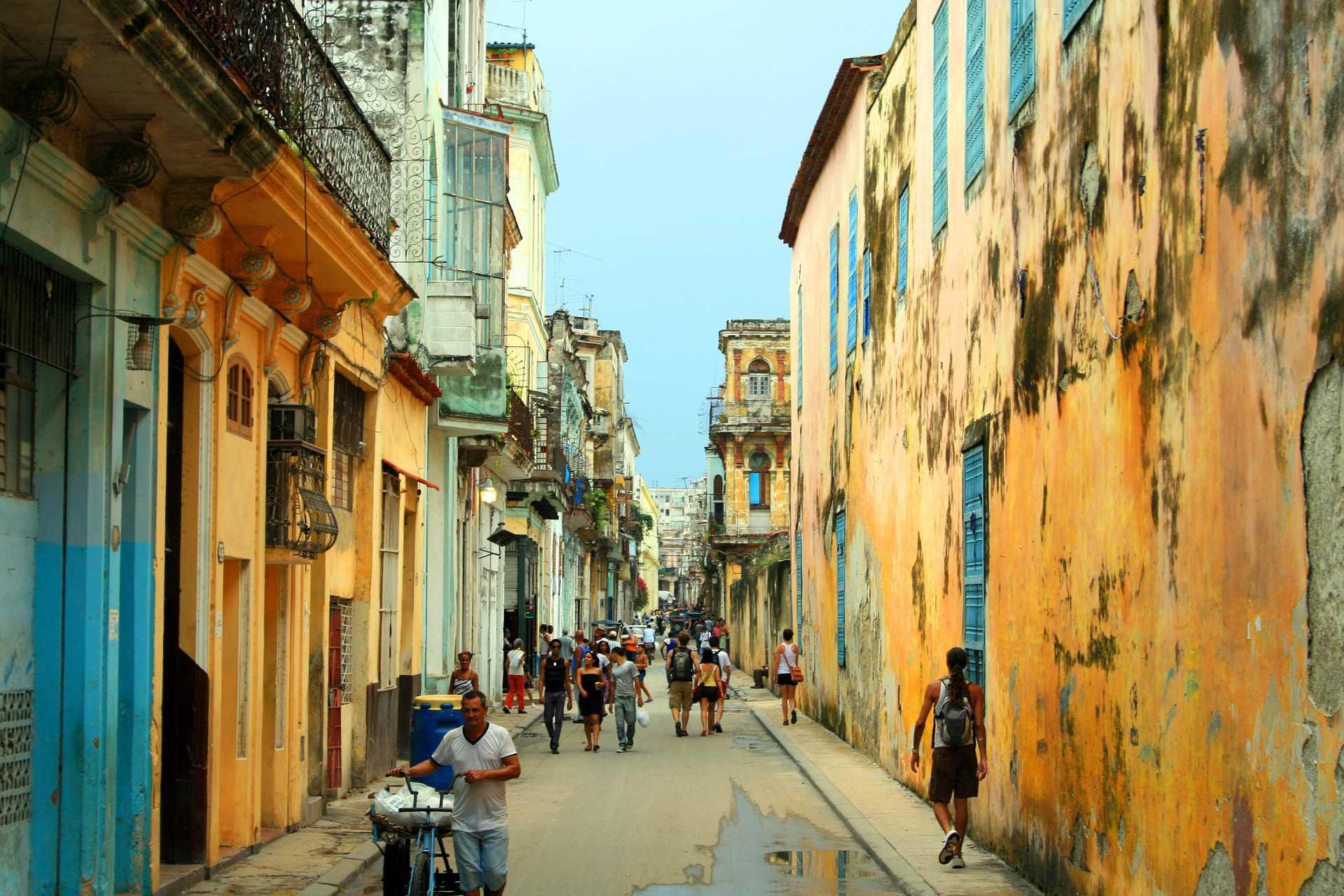 Straßenszene Havanna