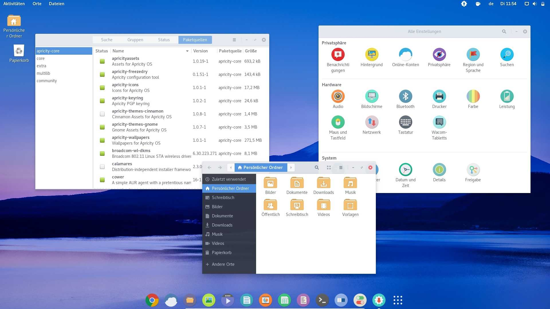 Apricity OS 07.2016