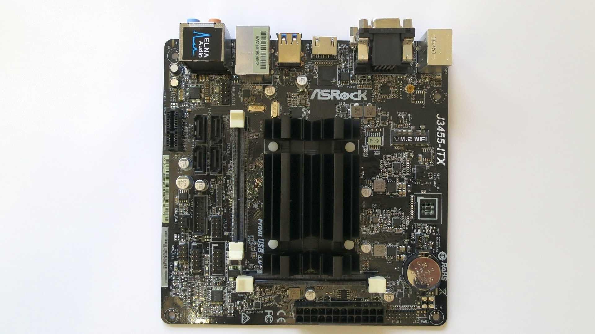 ASRock J3455-ITX mit Intel Apollo Lake