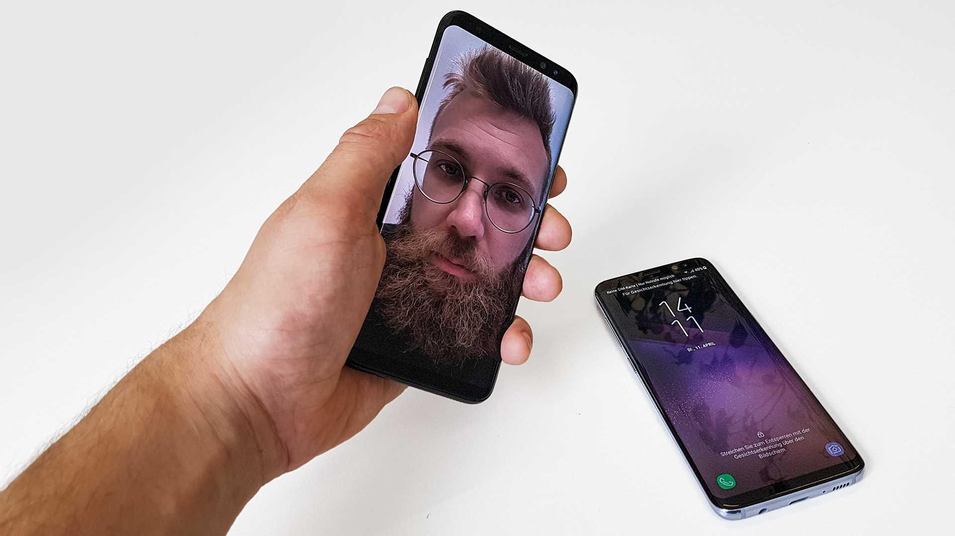 Samsung Galaxy S8 angetestet: Neues Face-Unlock lässt sich mit Foto überlisten