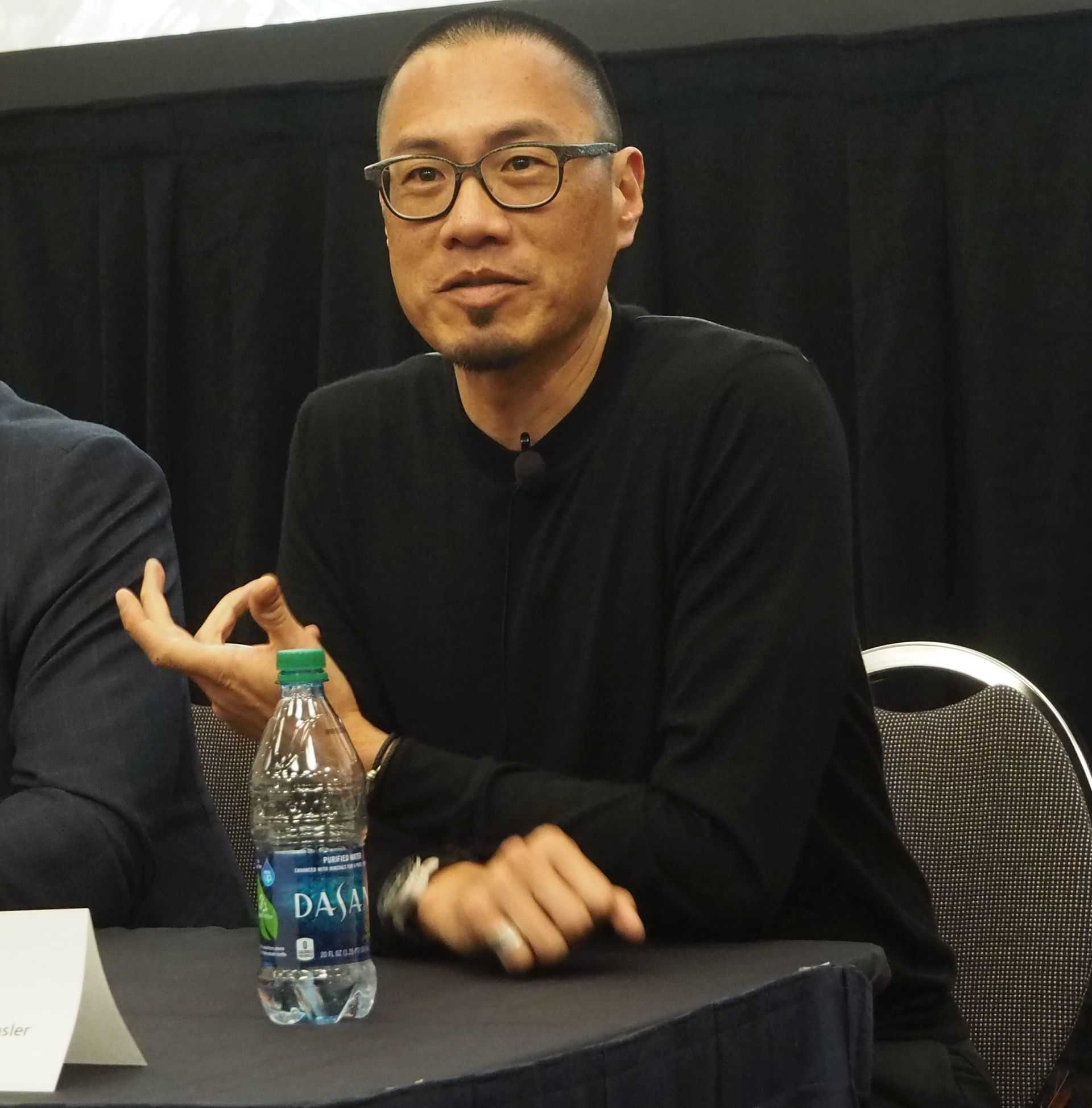 Der für das Design der neuen Firmenzentrale verantwortliche Architektur und Designer Hao Ko.