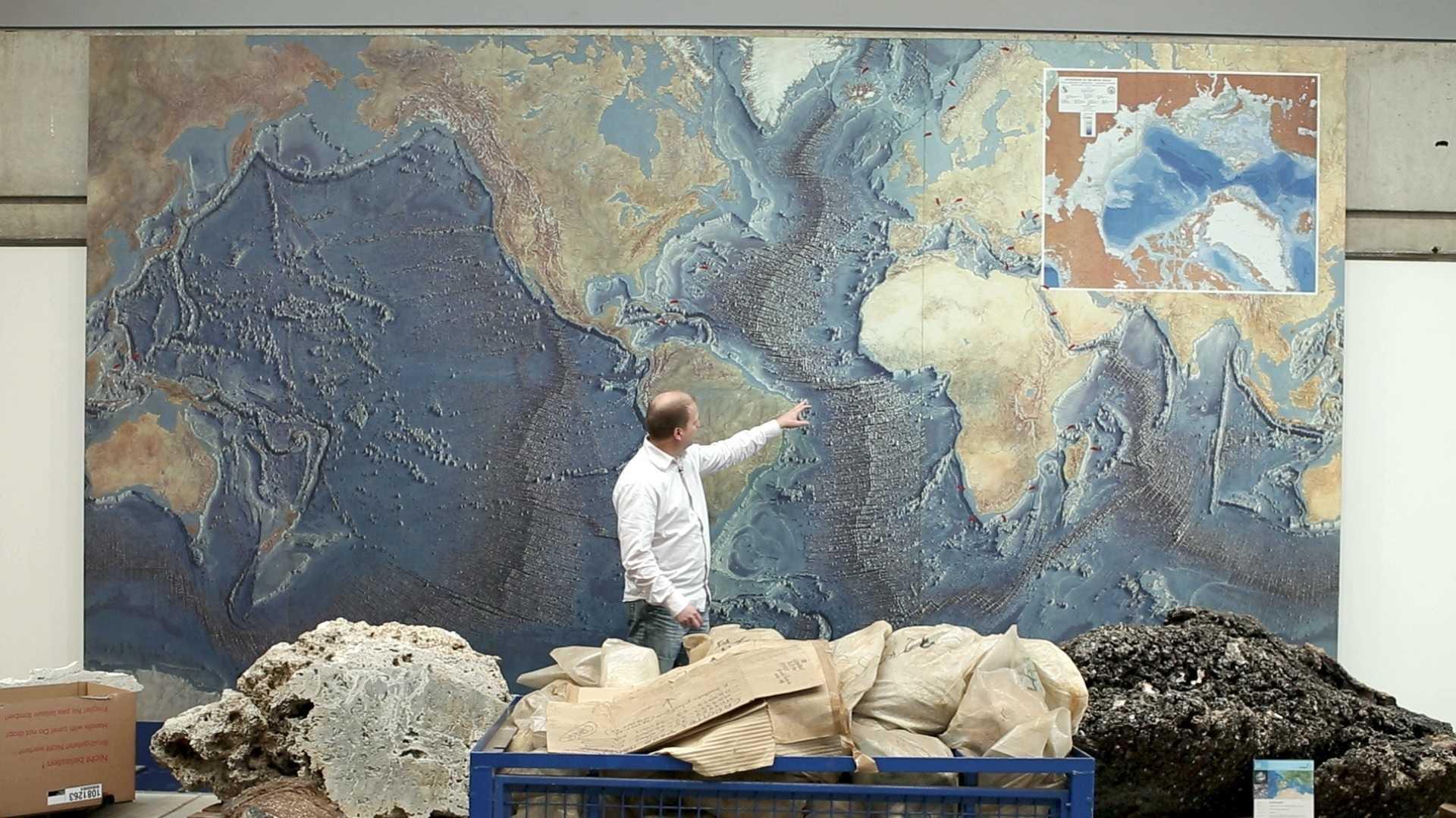 Ausstellung lässt tief in die Ozeane blicken