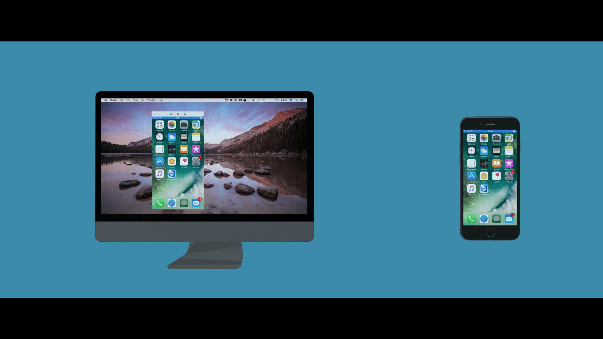 In der neuen Version landet der iOS-Bildschirm auf Rechner oder Mac.