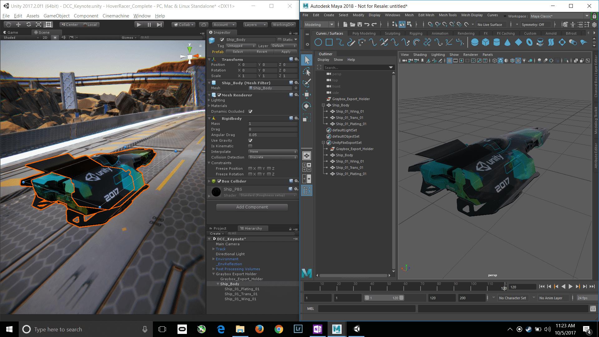 Das FBX-Importer/Exporter-Paket vereinfacht das Zusammenspiel mit Autodesk Maya.