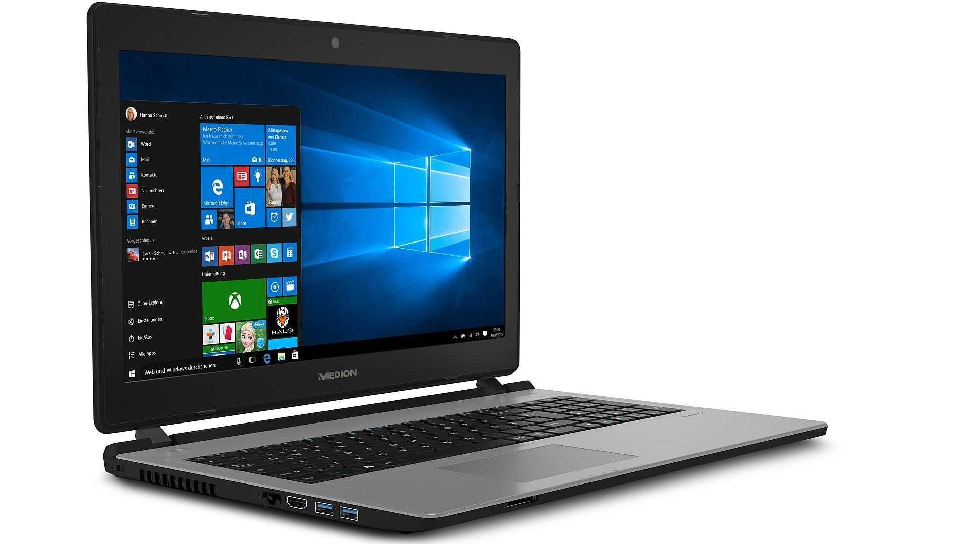 Aldi Süd: Medion Akoya E6436 mit Core i5-7200U und SSD