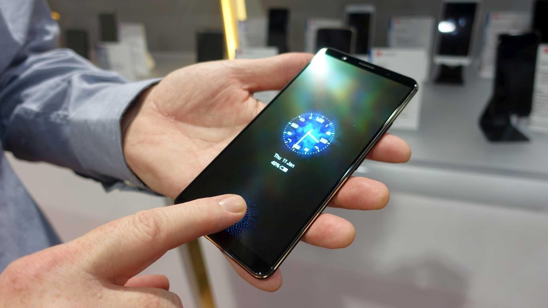 Ausprobiert: Das erste Smartphone mit Fingerabdrucksensor im Display