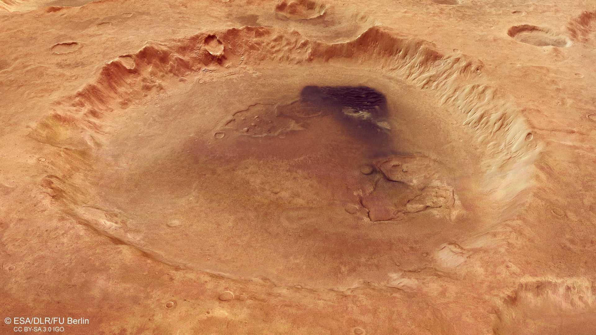 Marskrater nach deutschem Planetenforscher benannt