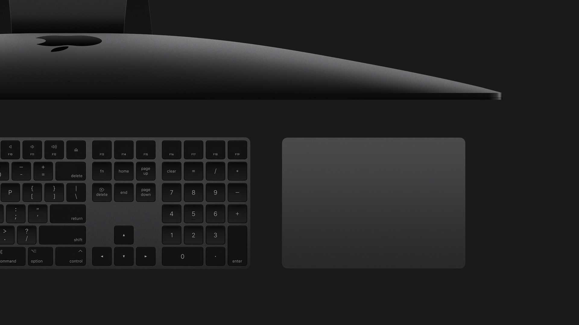 iMac Pro: Magic Trackpad in Sonderfarbe lässt sich nachkaufen – mit einem Trick