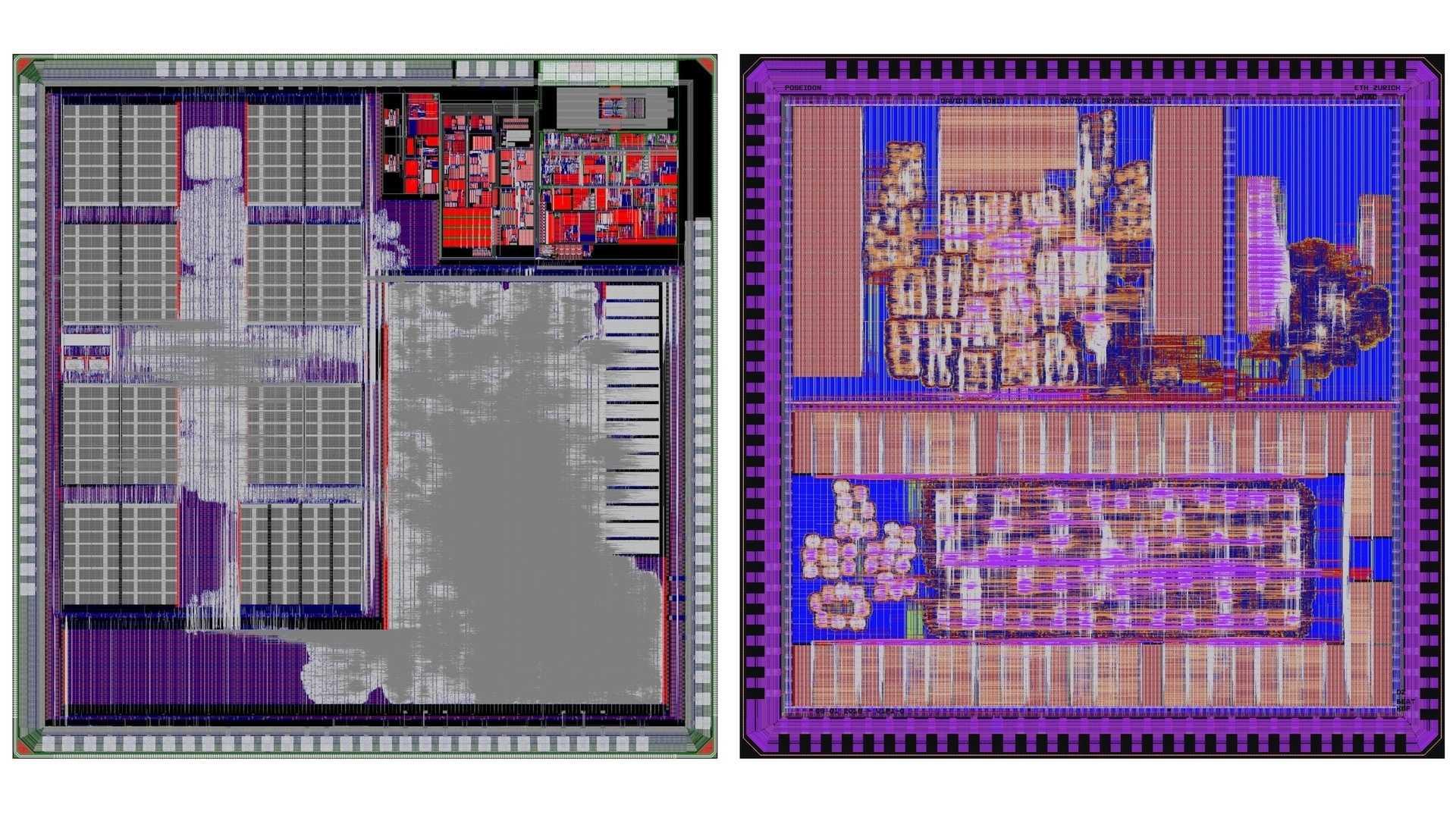 RISC-V-Pulp-Chips Mr. Wolf und Poseidon