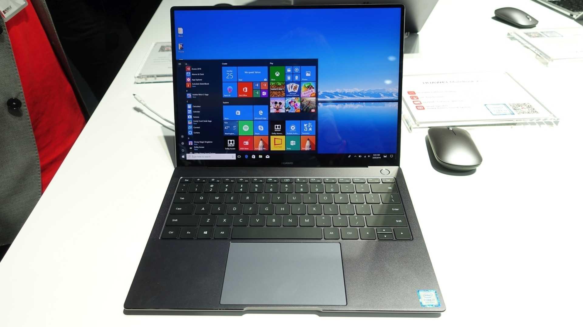 Huawei möbelt sein 3:2-Windows-Notebook auf