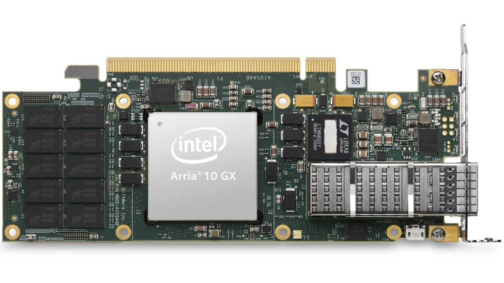 PCIe-FPGA-Karte mit Intel Arria 10 GX