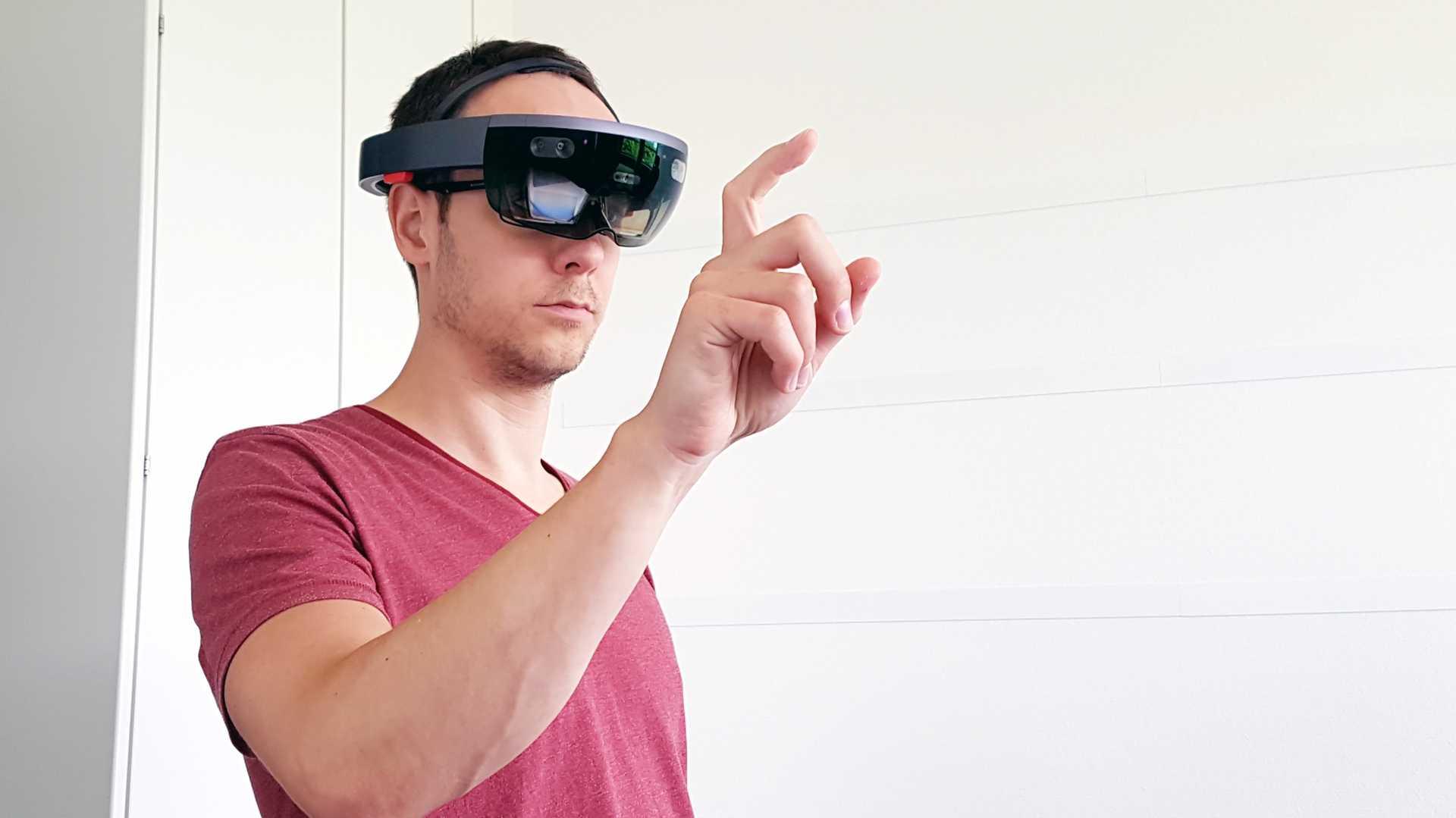 Microsoft HoloLens im c't-Test: Wow-Effekt trotz kleiner Schwächen