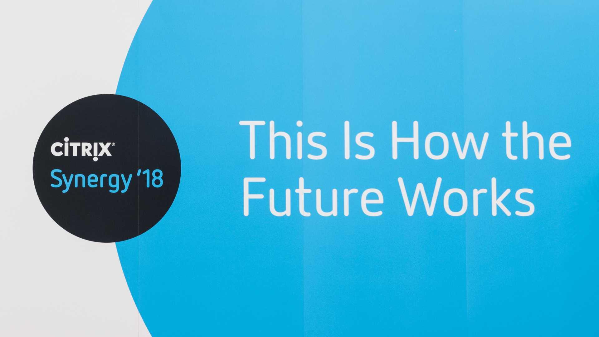 Citrix Synergy 2018: Große Pläne statt Ankündigungen