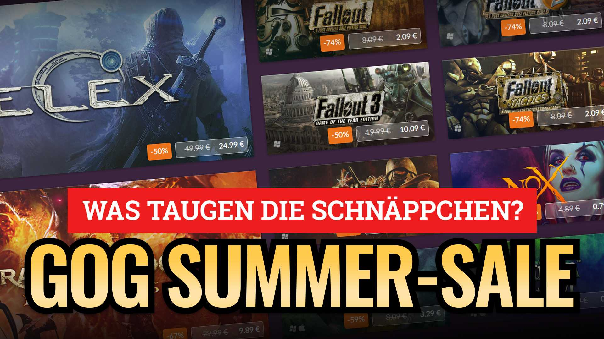 Deal-Check: GOG Summer-Sale