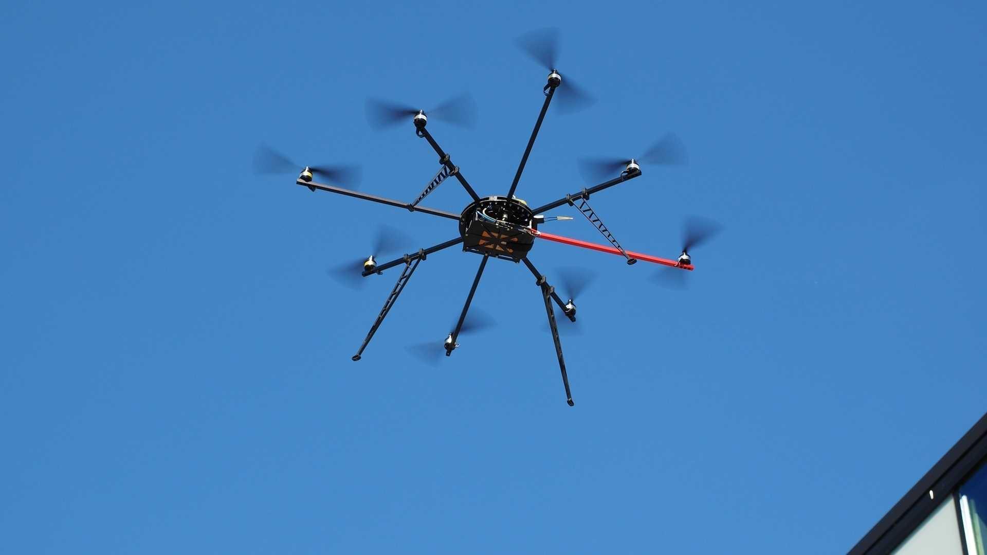 High-Tech-Drohnen für Katastrophenschutz und Großveranstaltungen