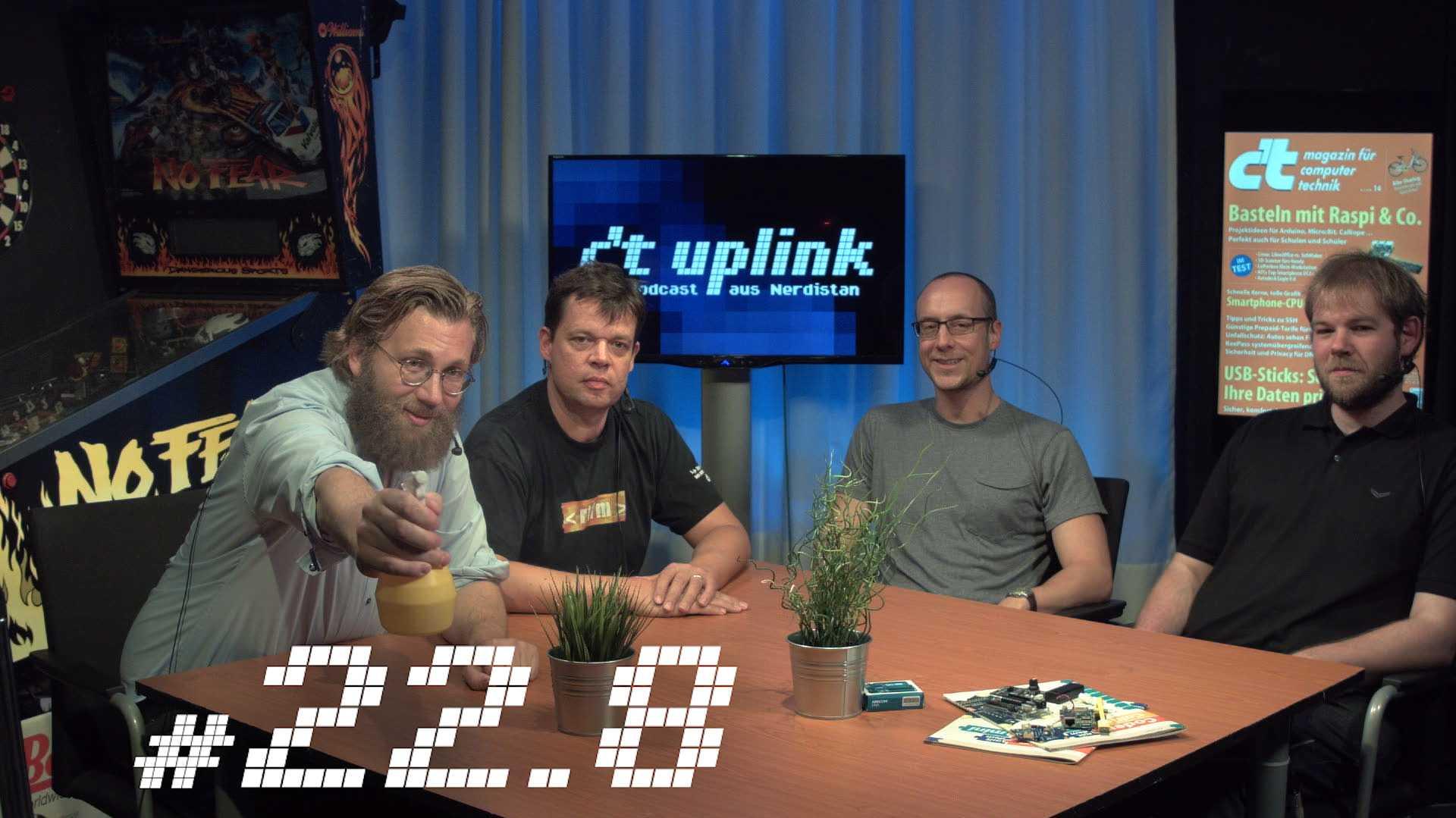 c't uplink 22.5: Smartbike-Check, Basteln mit Raspi & Co., Überleben als Fußgänger