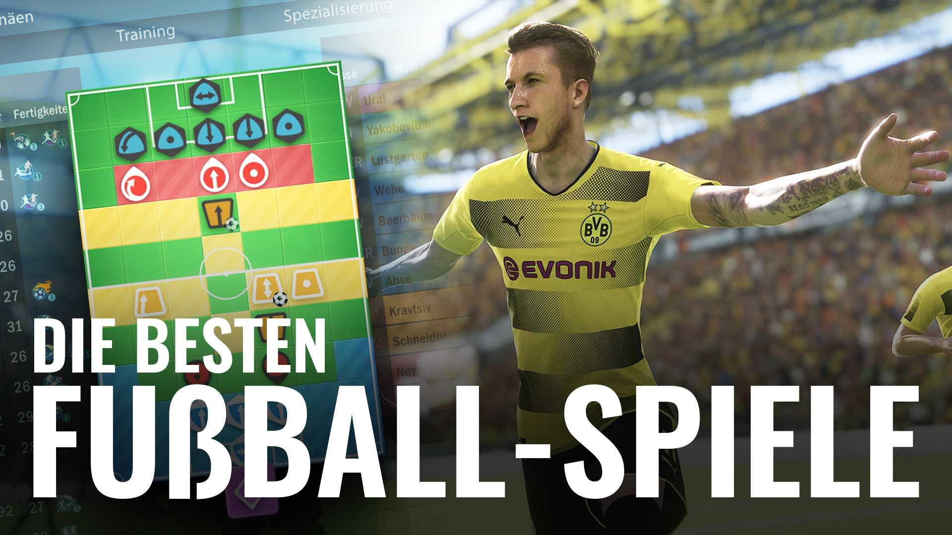 Die besten Fußball-Spiele für den PC