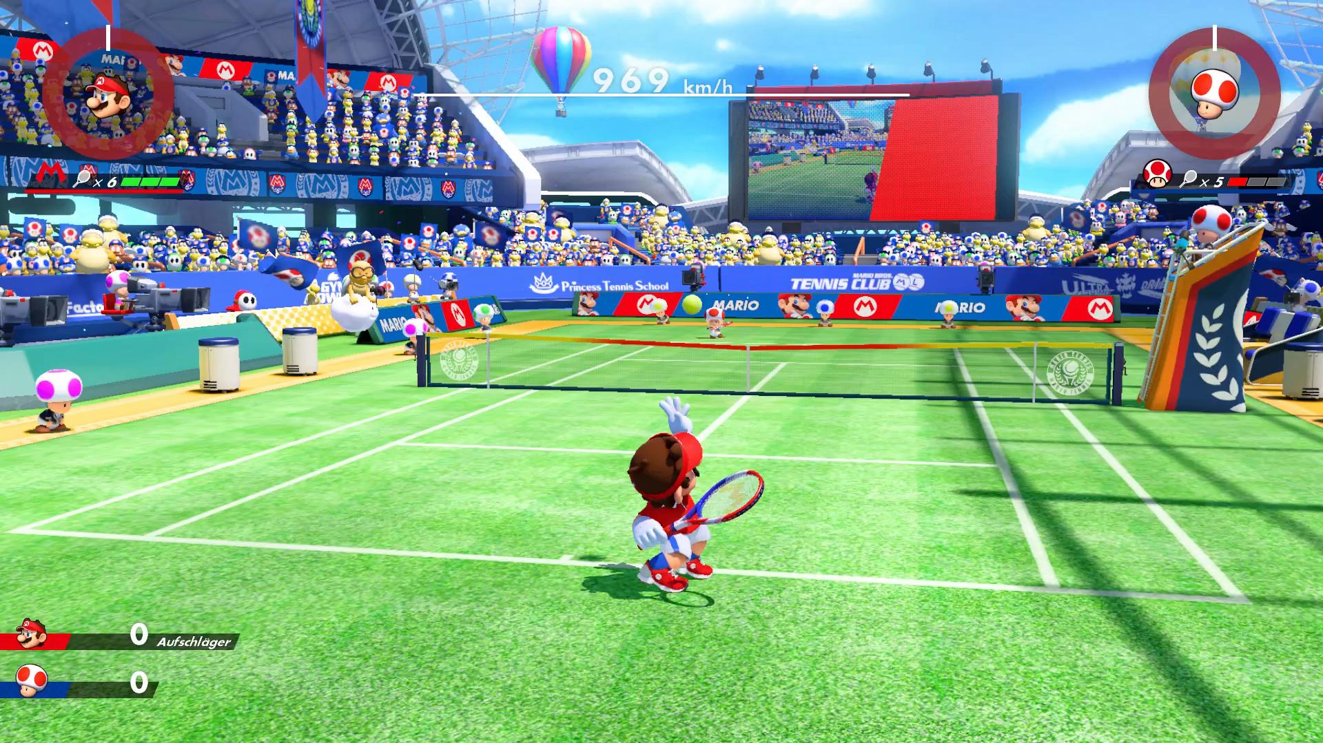 Mario Tennis Aces angespielt: Grand Slam