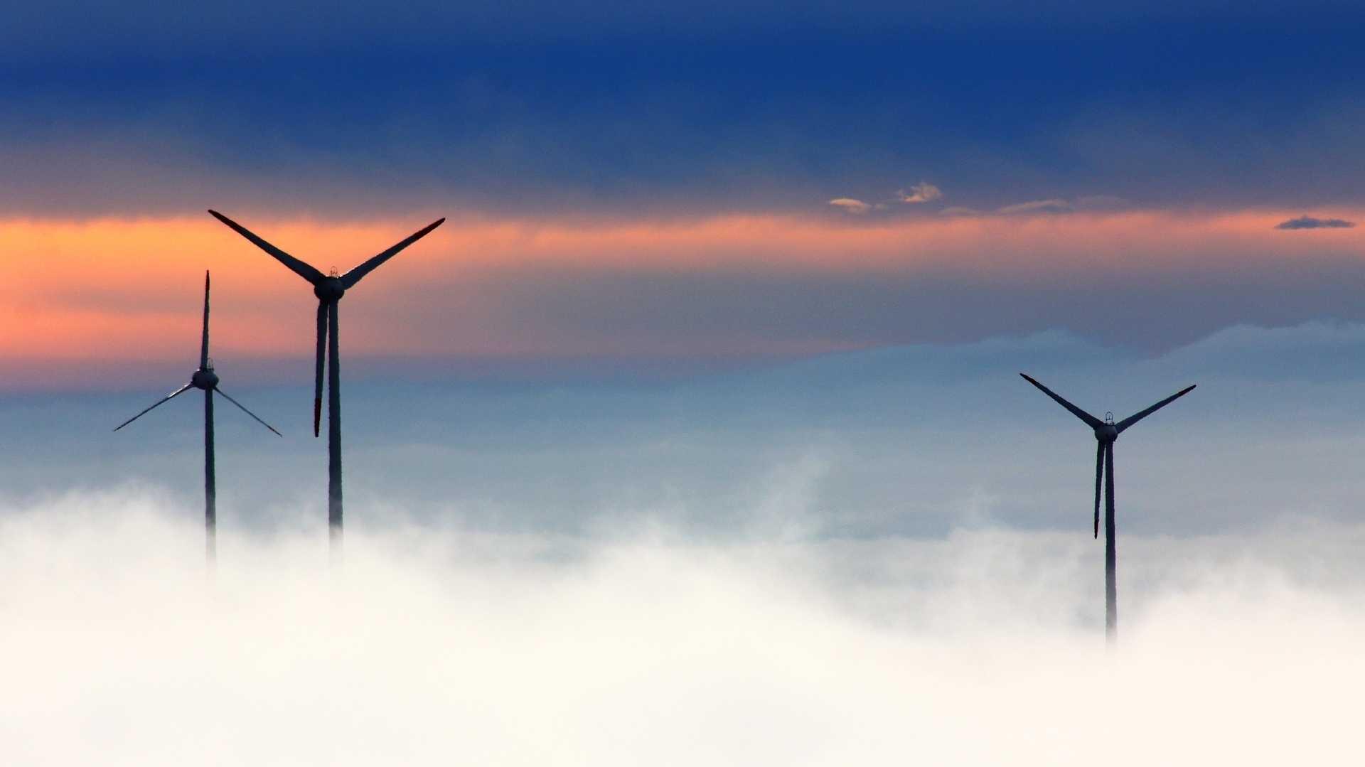 Ausbau von Windenergie in Deutschland rückgängig