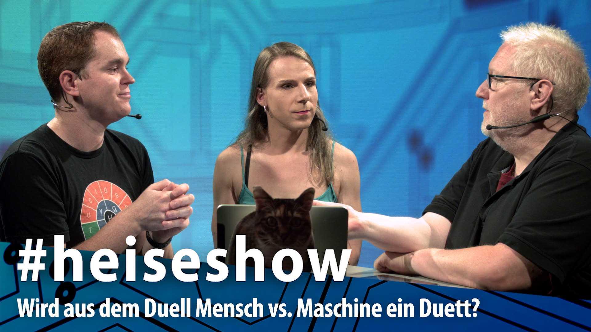 #heiseshow, live ab 12 Uhr: Wird aus dem Duell Mensch vs. Maschine ein Duett?