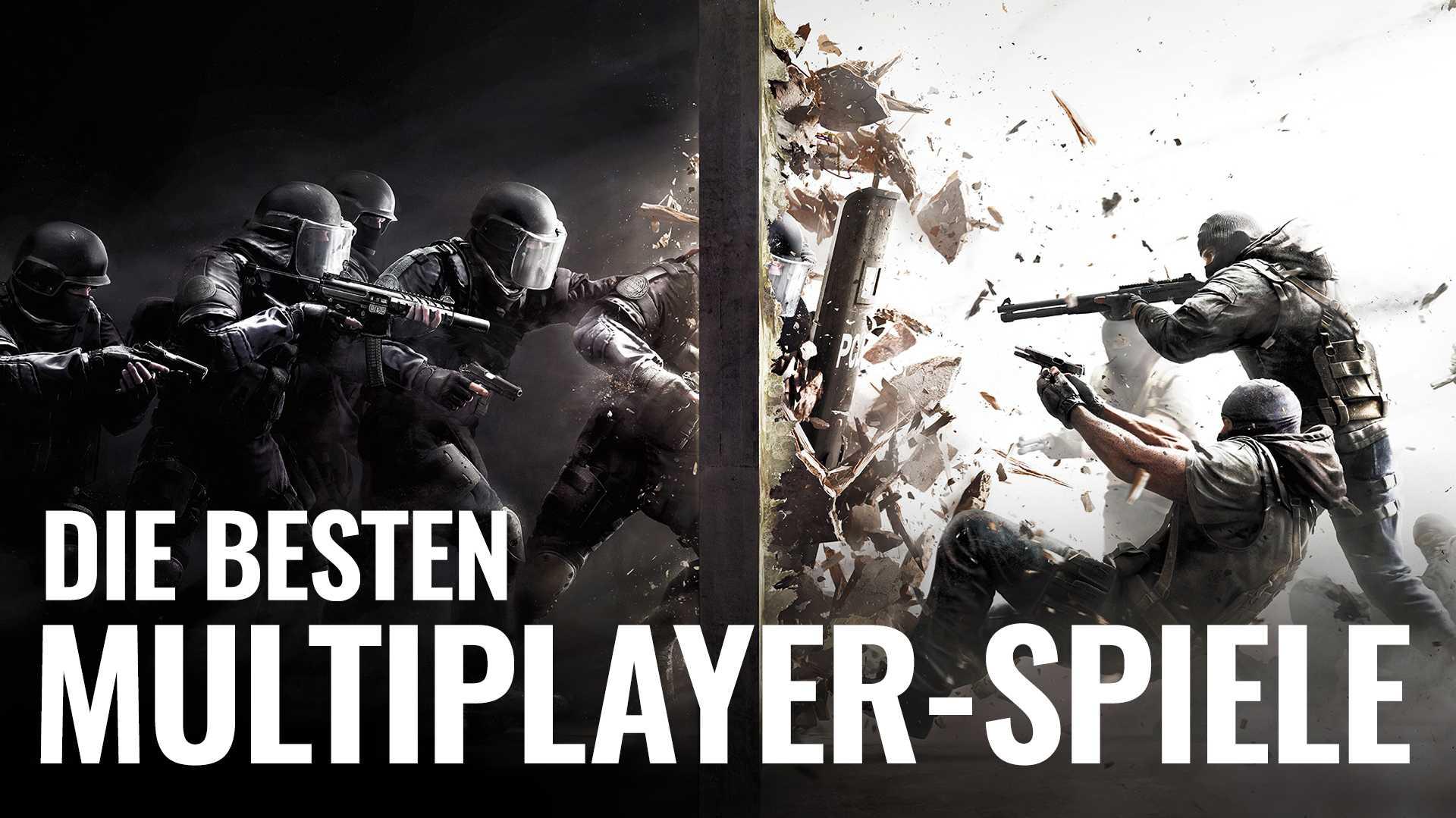 Die besten Multiplayer-Spiele für den PC