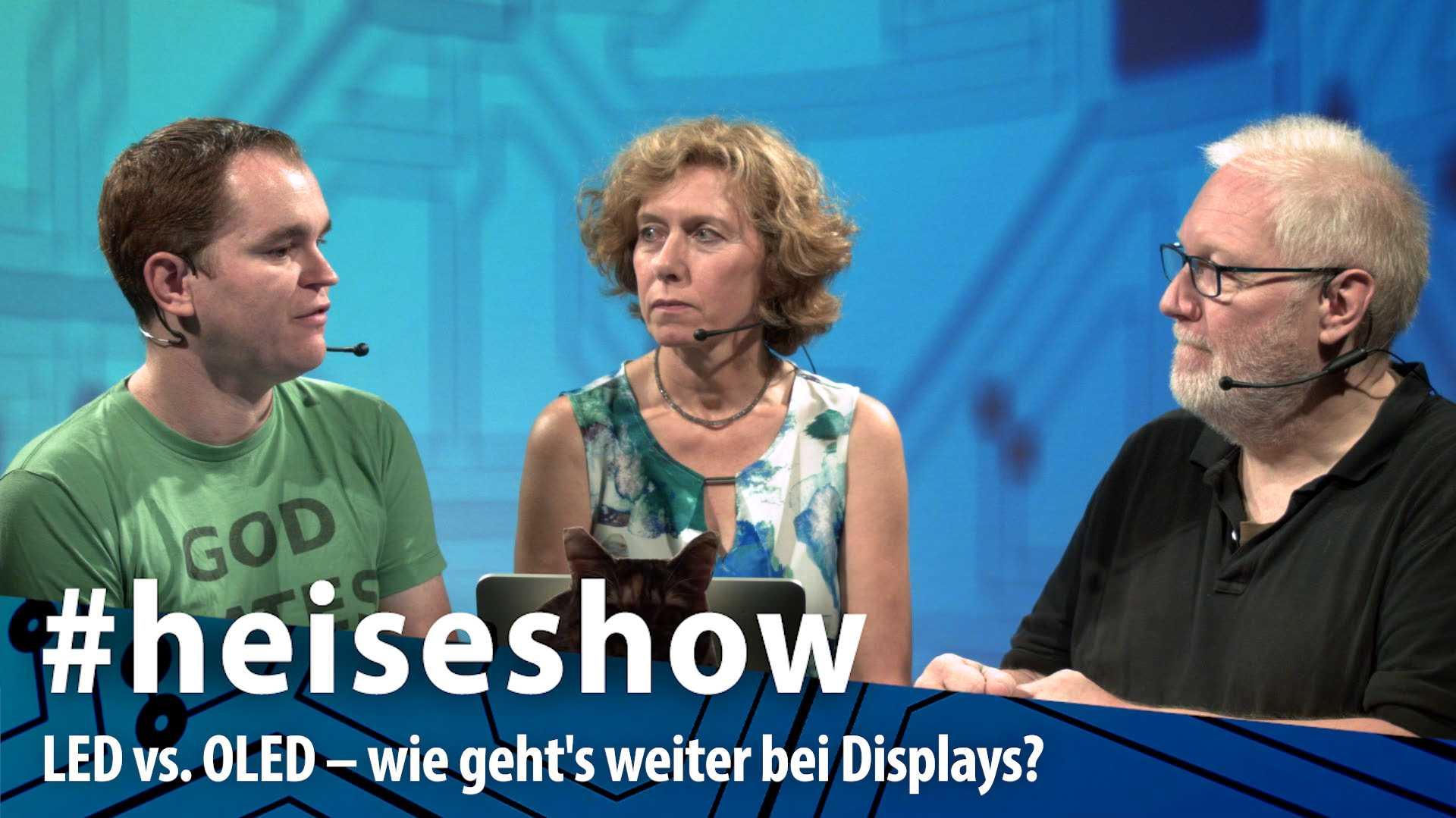 #heiseshow, live ab 12 Uhr: LED vs. OLED – wie geht's weiter bei Displays?